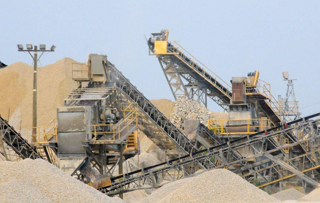 Dan Brown/Independent - Martin Marietta Materials is the nation's second largest producer of construction aggregates and has owned the Jamestown quarry since 1994.