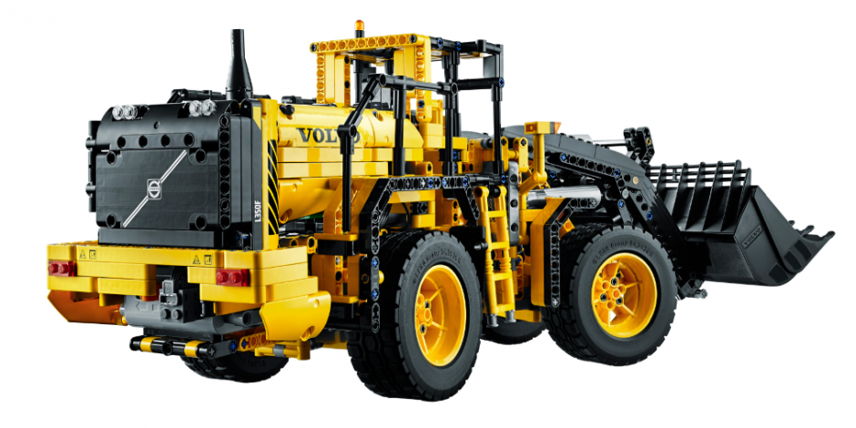 Lego Partners With Volvo For Latest Technic L350f Wheeled Loader
