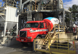 CarbonCure CO2 recycling technology has been installed ?at the Thomas Concrete plant in Doraville, GA