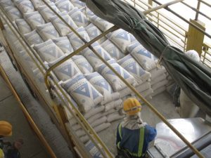 East-Africa is developing and the cement producers need good equipment