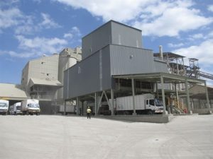 A section of a cement plant in Kenya