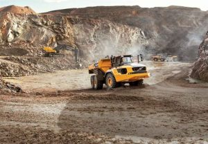 For the moment at least, Volvo CE's A60H is the only 55-tonne capacity articulated dump truck available on the market