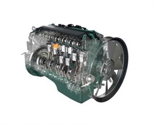 Volvo Penta's industrial off-road 8litre diesel engines meet emissions regulations for Stage II-IV/Tier 2-4 Final, as can all of Volvo Penta's current range of engines