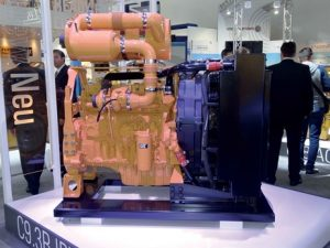 Caterpillar has introduced the C9.3B, a new version of its C9.3 Acert engine