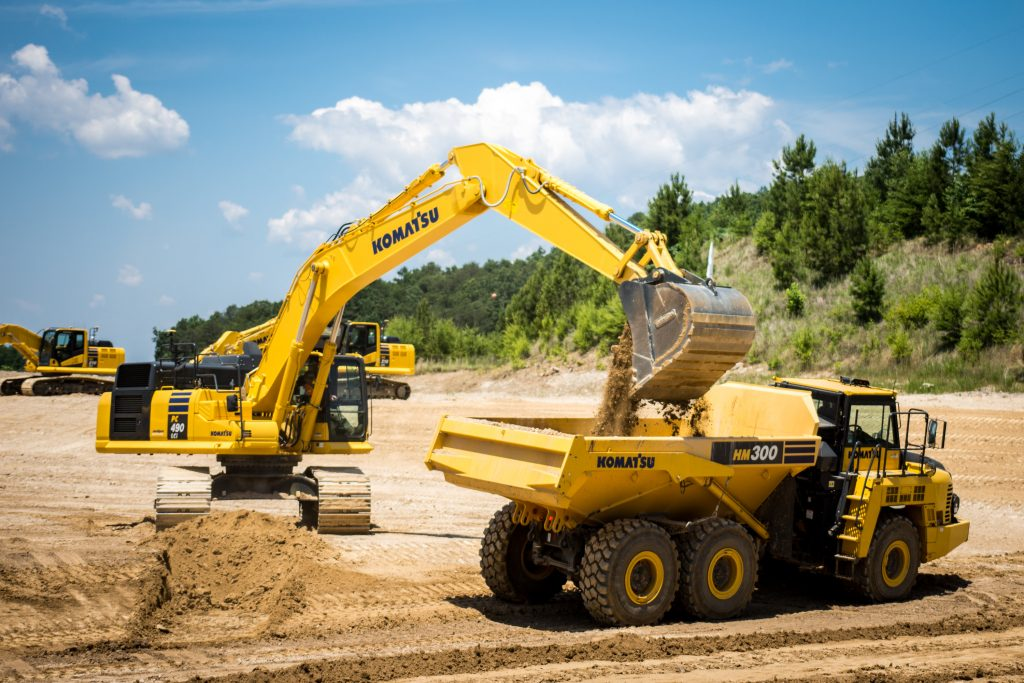 Komatsu's new dealer for New Jersey • Aggregate Research