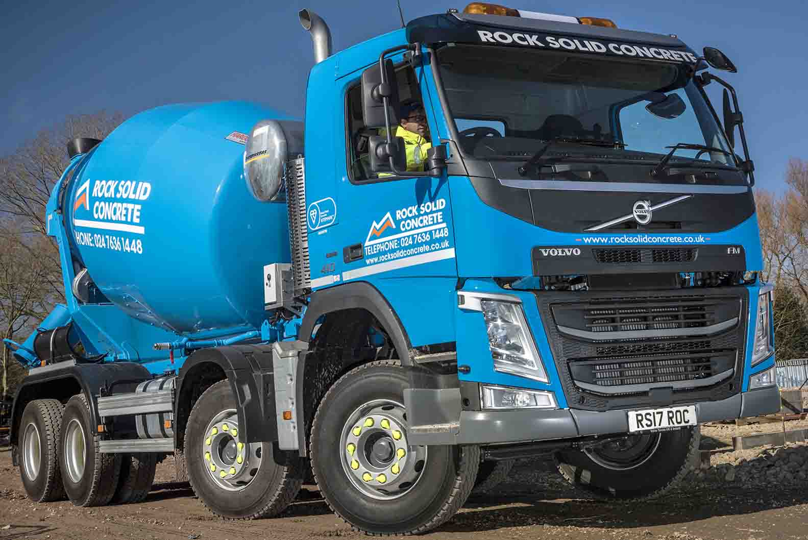 Rock Solid Concrete >> Uk Volvo For Rock Solid Mixer Hire Aggregate Research International